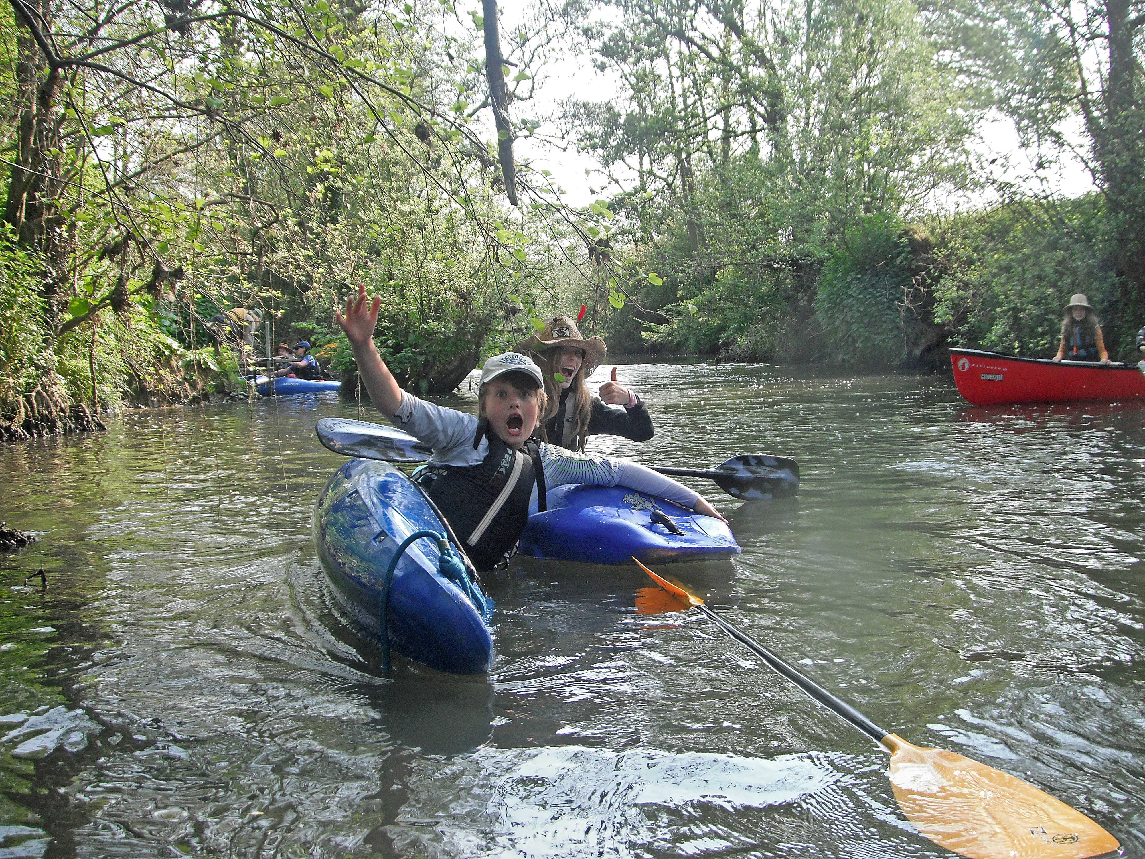 River trip on the Wey